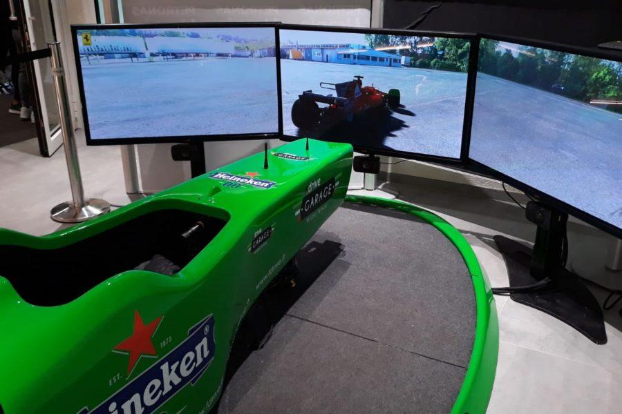 Riempire Bar e Locali con il Simulatore F1 come Il Gallo d'Oro