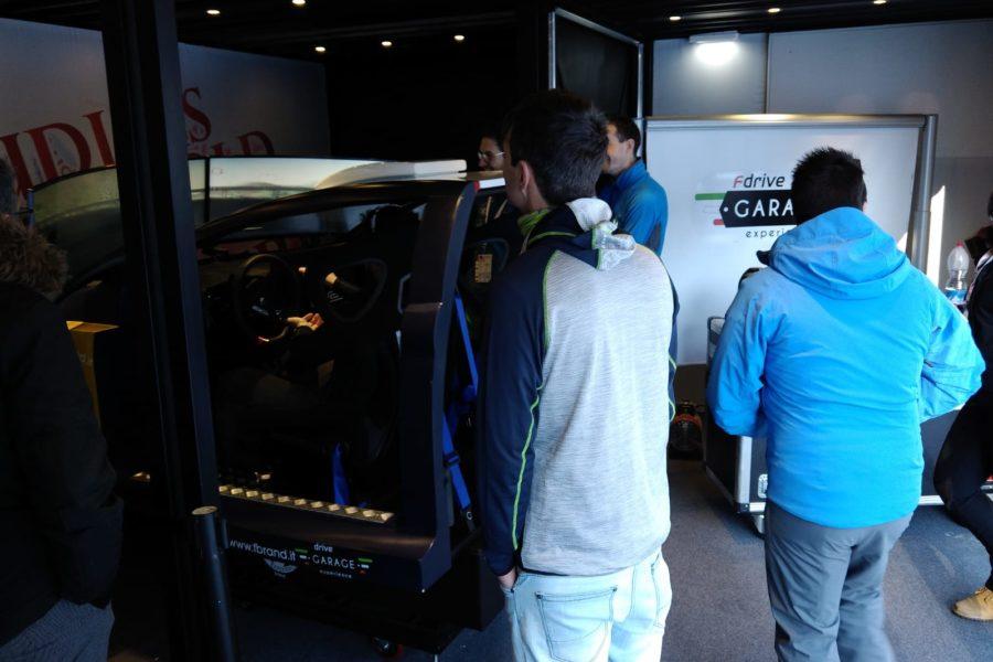 Due Simulatori di Guida Professionale con Fbrand a Sestriere