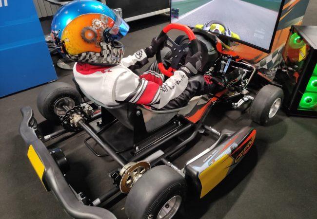 Simulatore Go Kart Professionale - Hot Race Junior - Simulatore di Guida per Bambini