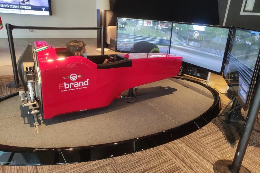 Al Novotel Milano Linate il GP F1 di Monza sul Simulatore Formula 1