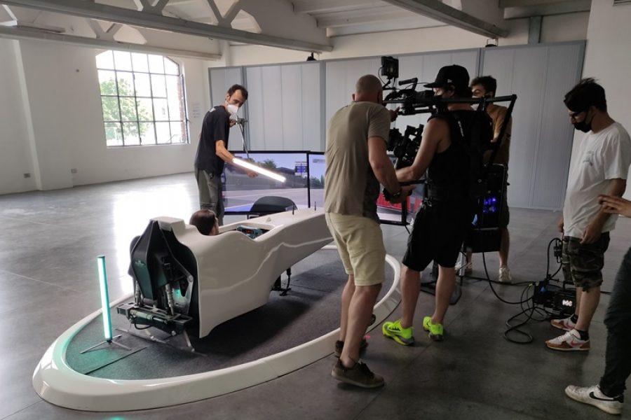 Fbrand con il Simulatore F1 e Giovinazzi nello spot Sky Sport per NOW TV